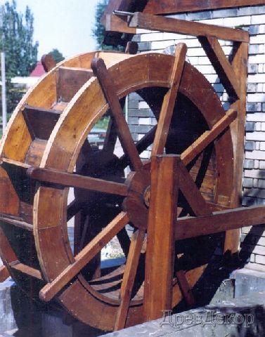 Как сделать колесо мельницы 785